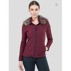 Equiline bordeaux softshell...